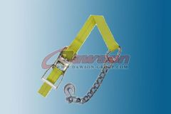 2 Inch Ratchet Strap With Chain Anchor Dawson Group China Manufacturer Supplier