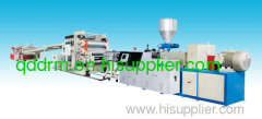 plastic sheet extrusion line/plastic sheet making machine