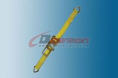 3 Inch Ratchet Strap With D Ring Cargo Tie Down Dawson Group China Manufacturer Supplier