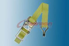 3 inch Ratchet Strap With Wire Hook Cargo Tie Down Dawson Group China Manufacturer Supplier