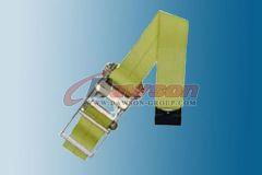 4 inch Ratchet Strap wiht Flat Hook Cargo Tie Down Dawson Group China Manufacturer Supplier