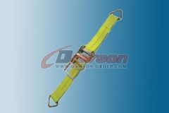 4 Inch Ratchet Strap With D Ring Cargo Tie Down Dawson Group China Manufacturer Supplier