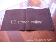brushed suede stretched ceiling