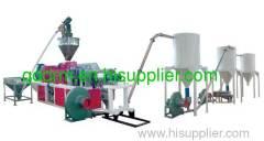 PVC pelleting production line/PVC pelleting making machine