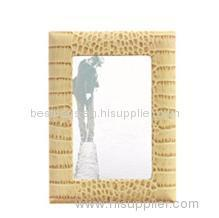 leather photo frame for promotion