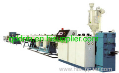 PPR pipe extrusion line from DeerMa Plastic Machinery Co.