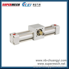 QGK series swing pneumatic cylinder rotary air cylinder