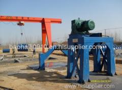 Roller Suspension Technology of Concrete pipe making machine From Shanghai