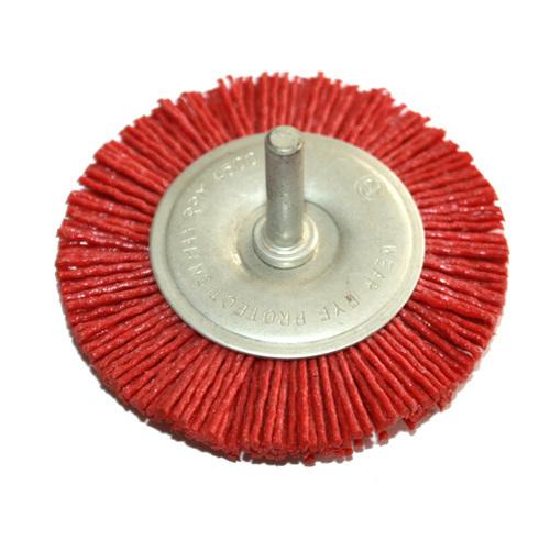 Nylon Wheel Brush with shank D:40/50/63/75/100mm W:6mm