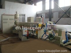 EPE foam sheet extrusion line in plastic machinery