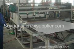 PVC free foam sheet extrusion line