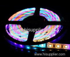 60 pcs/m RGB SMD 5050 LED Flexible Strip IP00