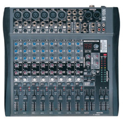 6 Mono & 2 Stereo Channel Mixer