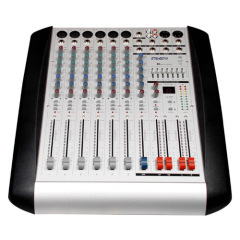 6 channels professional mixer W /DSP