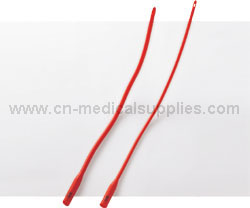 Red Latex Urethral Catheter