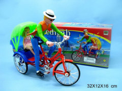Battery Operated Pedicab Toy-ZASLBOPT002