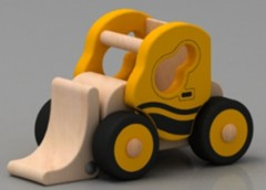 Wood Bulldozer-HC0402