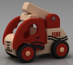 Mini Fire Engine-HC0404