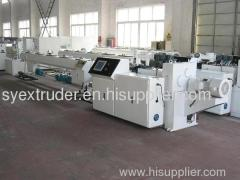 PE building template extrusion production line