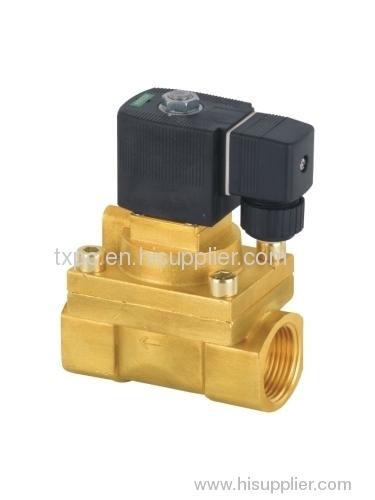 High pressure series solenoid valves