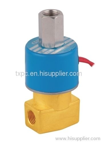 two position three way solenoid valve