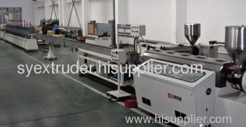 PS foamed profile extrusion line