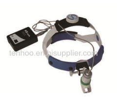 LED Surgical headlamp with rechargeable battery