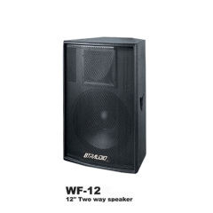 12  Two Way Speaker W/1200W