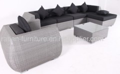 Garden rattan modern furniture sofa