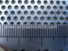Perforated metal sheet for Microwave-oven doors
