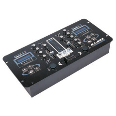 2 CH DJ Mixer With Dual MP3