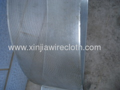 Perforated metal sheet for Lorries/buses/train