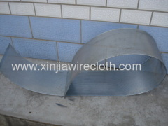 Perforated metal sheet for Air-bag cylinders