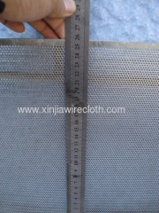 Perforated metal sheet for Steel production industry