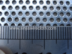 Perforated metal sheet for Energy production