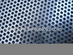 Perforated metal sheet for Food processing
