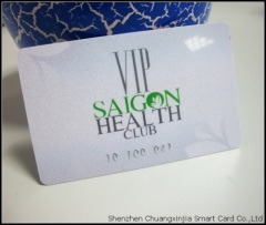 Gym VIP Membership Card