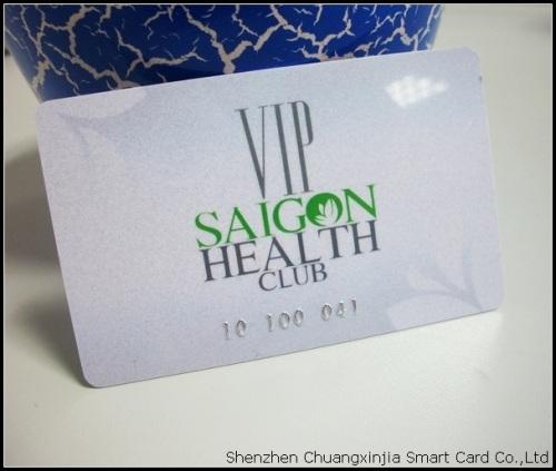 Gym VIP Membership Card