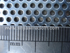 Perforated metal sheet for Offshore industry