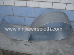 Perforated metal sheet for Satellite dishes