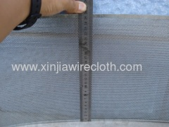 Perforated metal sheet for Loudspeaker grilles