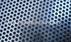 Perforated metal sheet for Sieves