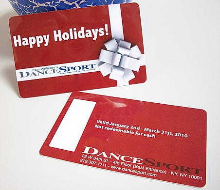 Gift card,plastic gift card