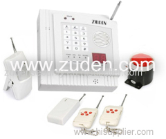 32-zone Intelligent Wireless Burglar Alarm System