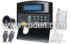 LCD GSM Alarm System