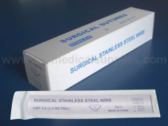 Surgical Steel Suture