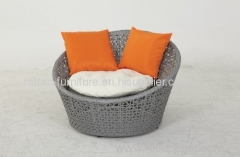 Outdoor Patio Garden Furniture PE Rattan Daybed Chaise Lounge