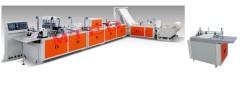 WZDJ-N700 FULL AUTOMATIC MULTIFUNCTION NON WOVEN FABRIC BAG MAKING MACHINE