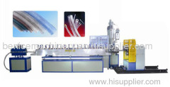 spiral steel wire reinforced hose extrusion line