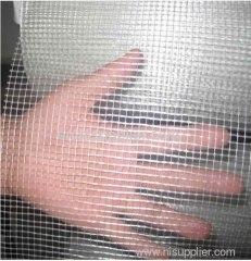 Blue fiberglass mesh